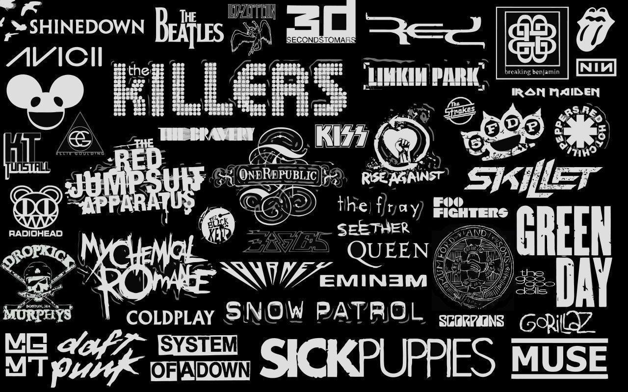 Tumblr Rock Alternative Band Logos