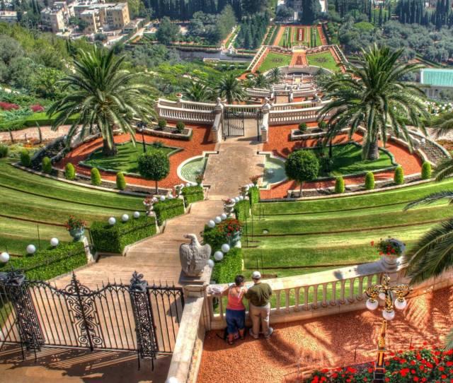 Hanging Gardens Of Haifa Wallpaper World Wallpapers