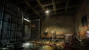 creepy wallpapers dark evil macabre scary spooky library cage dead halloween backgrounds background horror alone prison slideshows desktop abandoned games