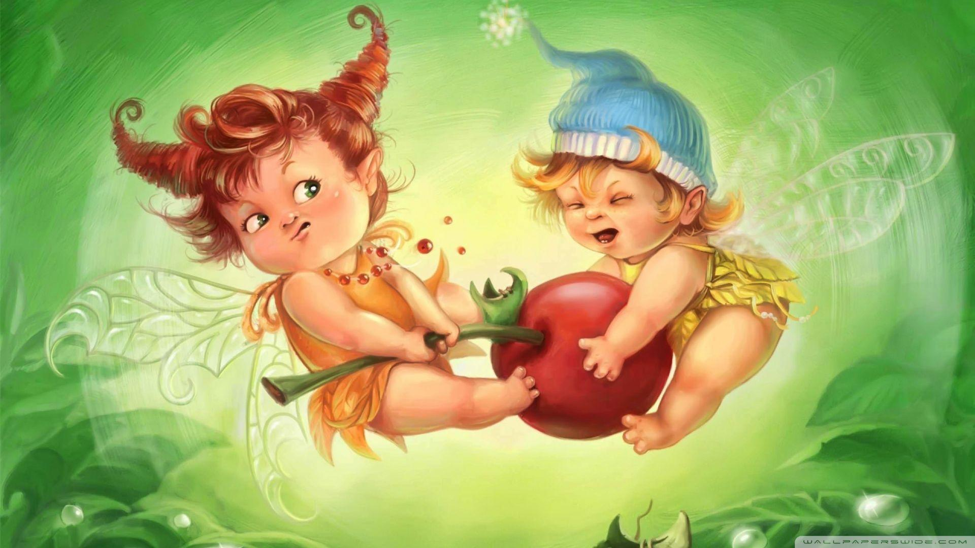 Cute Little Fairy Wallpaper Fairy Wallpapers For Desktop Wallpaper Cave