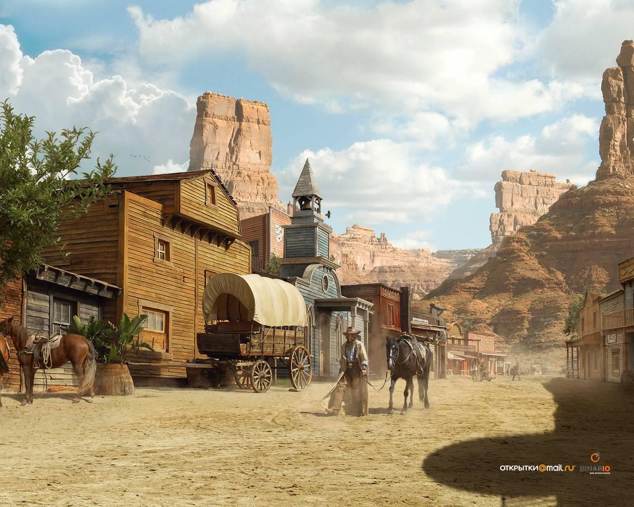 Wild West Wallpapers