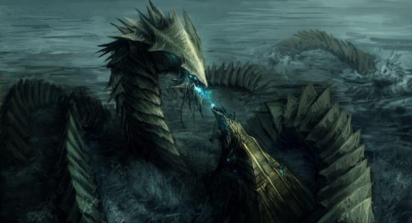 Sea Monster Wallpapers - Wallpaper Cave
