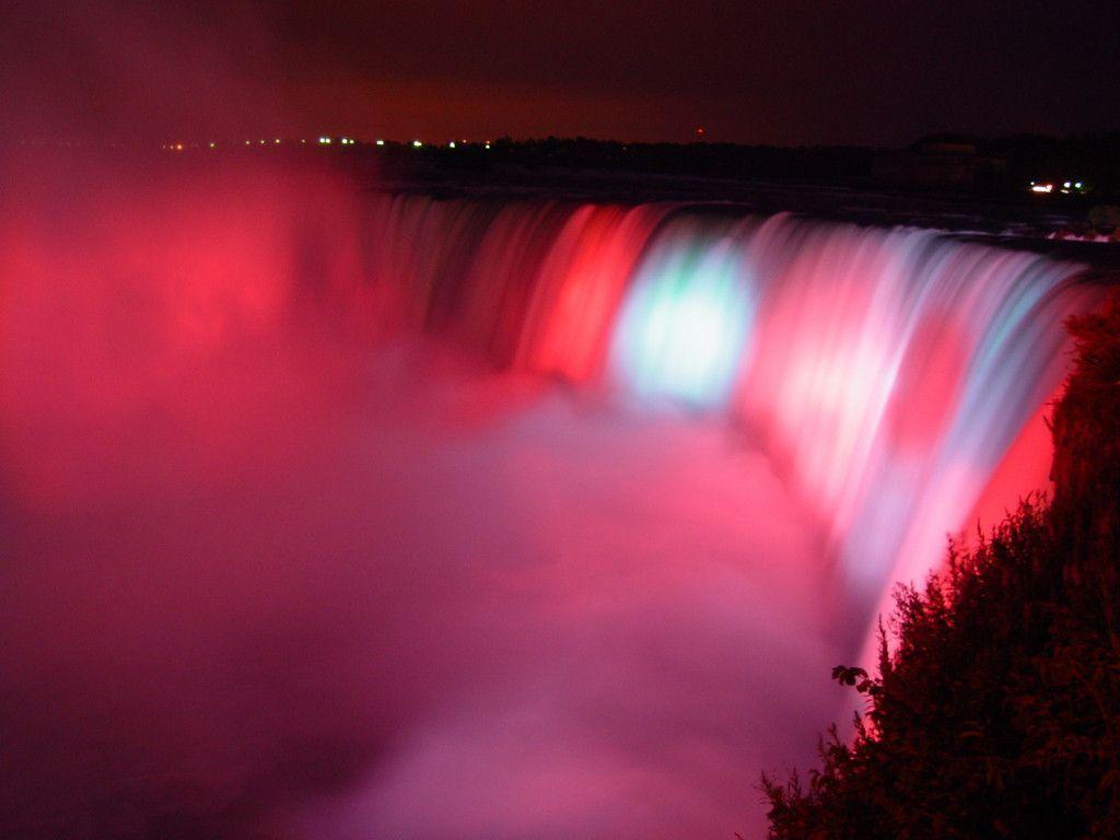 Niagara Falls At Night Wallpaper Hd Niagara Falls Wallpapers Wallpaper Cave