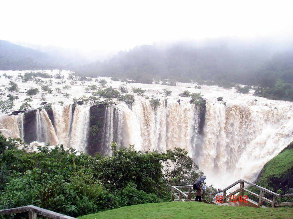 Jog Falls Wallpapers Desktop Karnataka Wallpapers Wallpaper Cave
