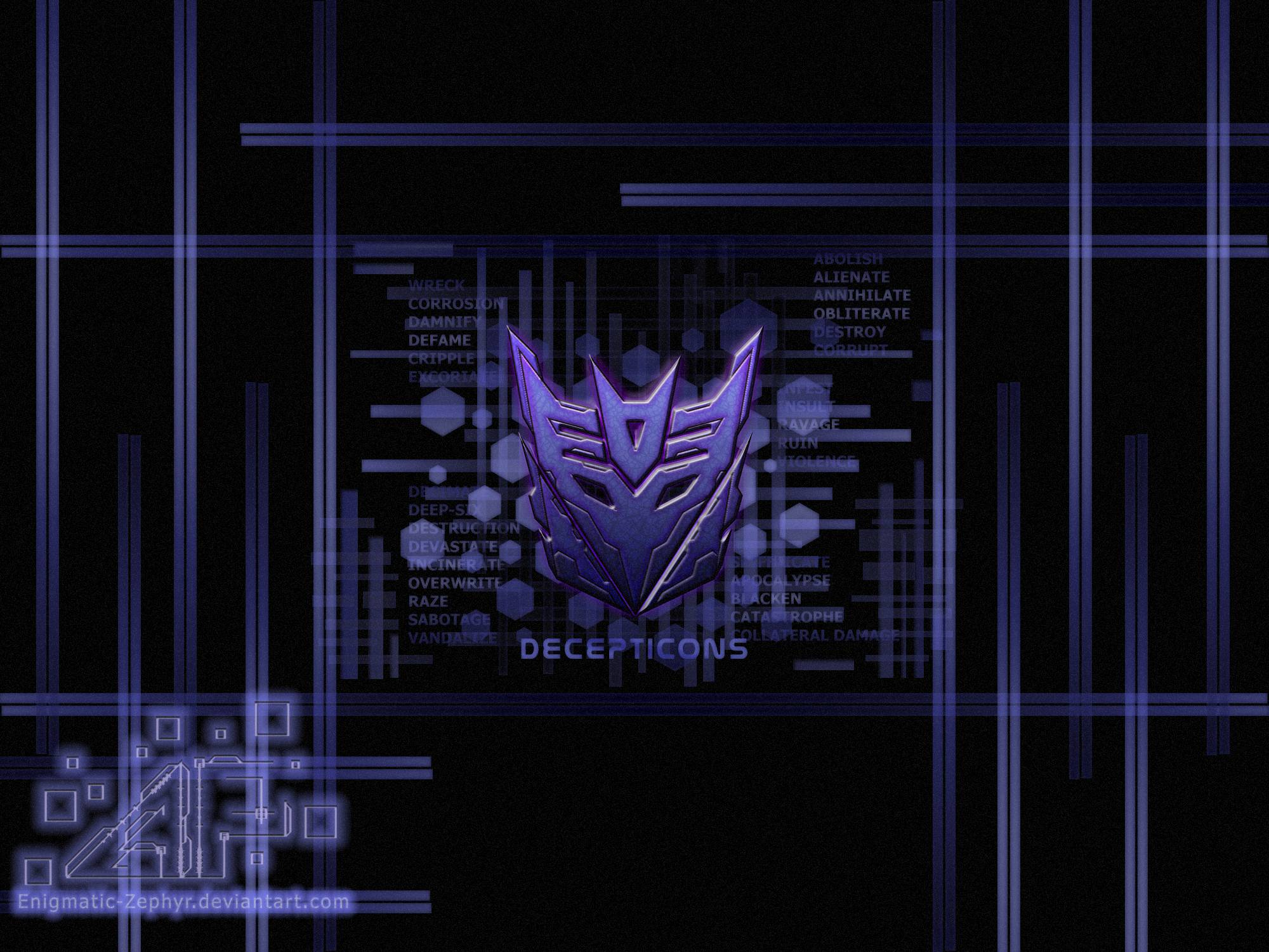 Transformers Fall Of Cybertron Wallpaper Decepticon Logo Wallpapers Wallpaper Cave