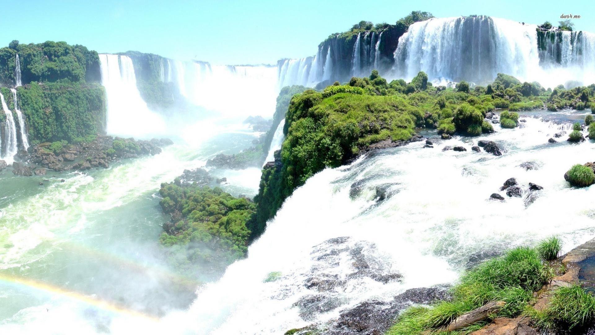 Iguazu Falls Wallpaper Iguazu Falls Wallpapers Wallpaper Cave