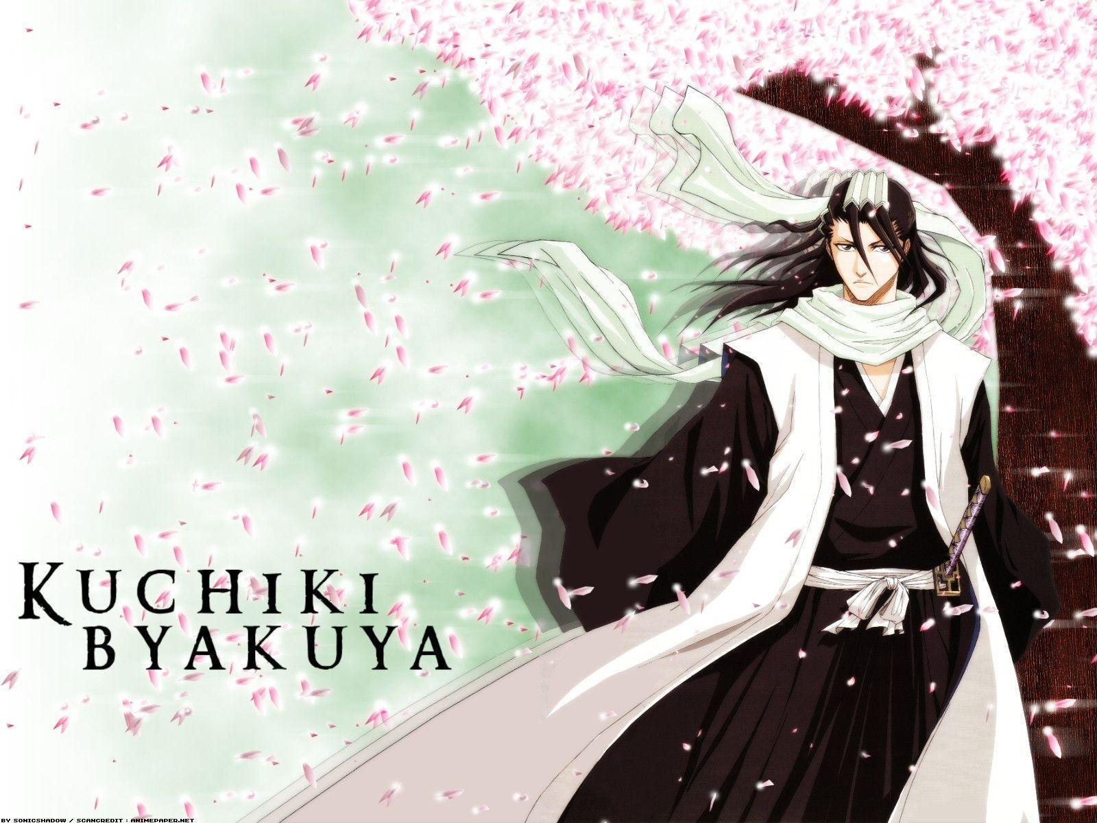 byakuya kuchiki wallpapers wallpaper