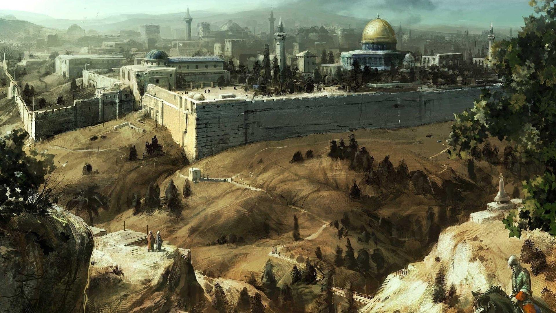 Jerusalem Wallpapers - Wallpaper Cave