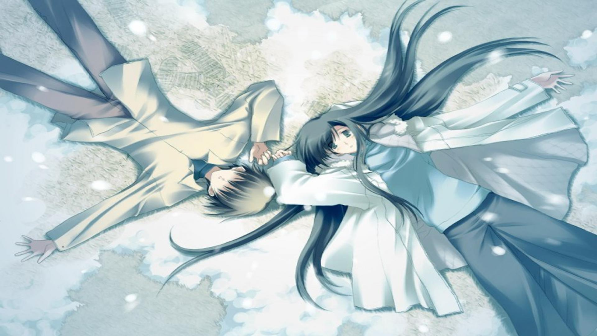 Cute Couples Cartoons Wallpapers Romantic Anime Wallpapers Wallpaper Cave
