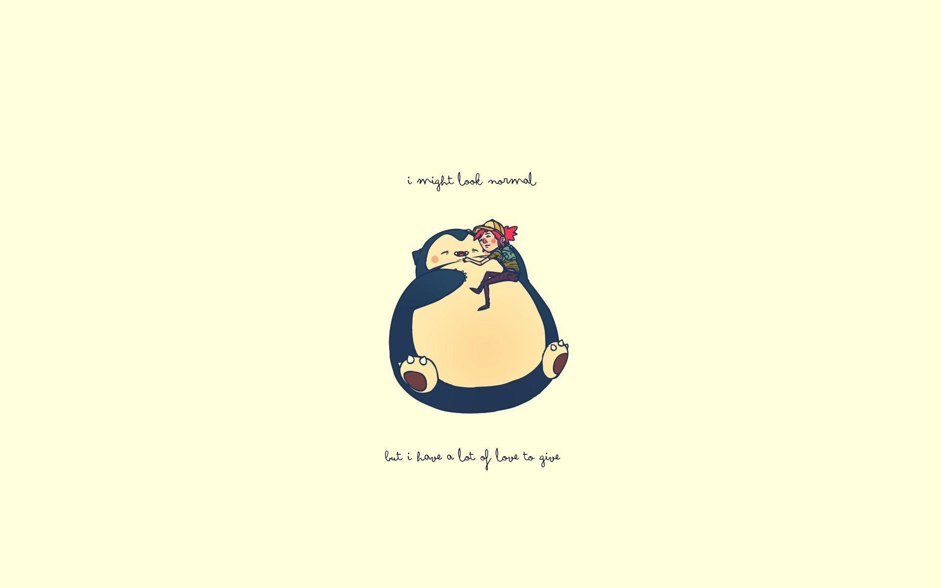 Cute Pokemon Iphone Wallpapers Snorlax Wallpapers Wallpaper Cave