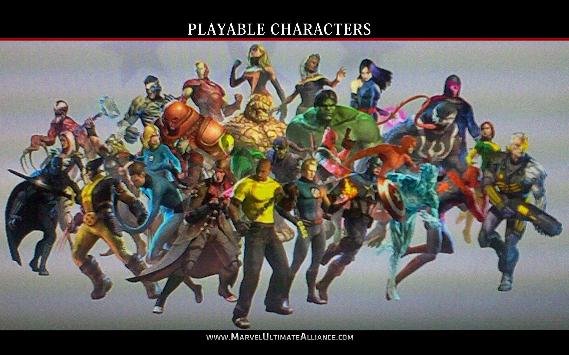 Ultimate Alliance 2 Dlc Characters