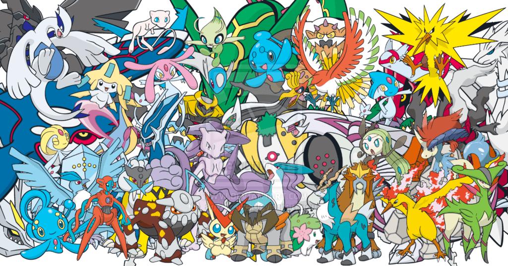 all legendary pokémon wallpapers