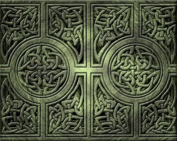Irish Celtic Crosses Wallpaper