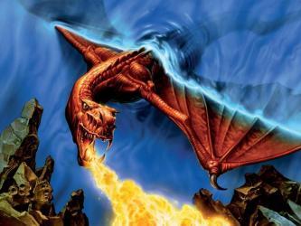 dragon fire wallpapers dragons cool background magic hd gathering water spitting cartoon fantasy mtg awesome wallpapersafari desktop breath wallpapercave legend