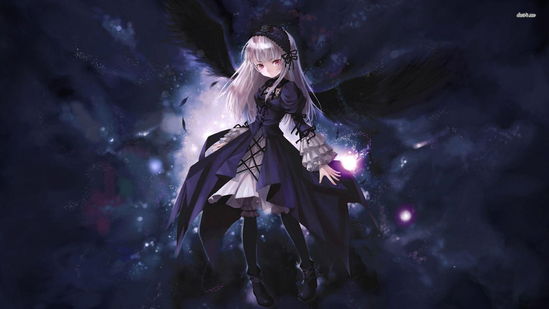 Anime Gothic Girl Wallpaper Gothic Anime Wallpapers Wallpaper Cave