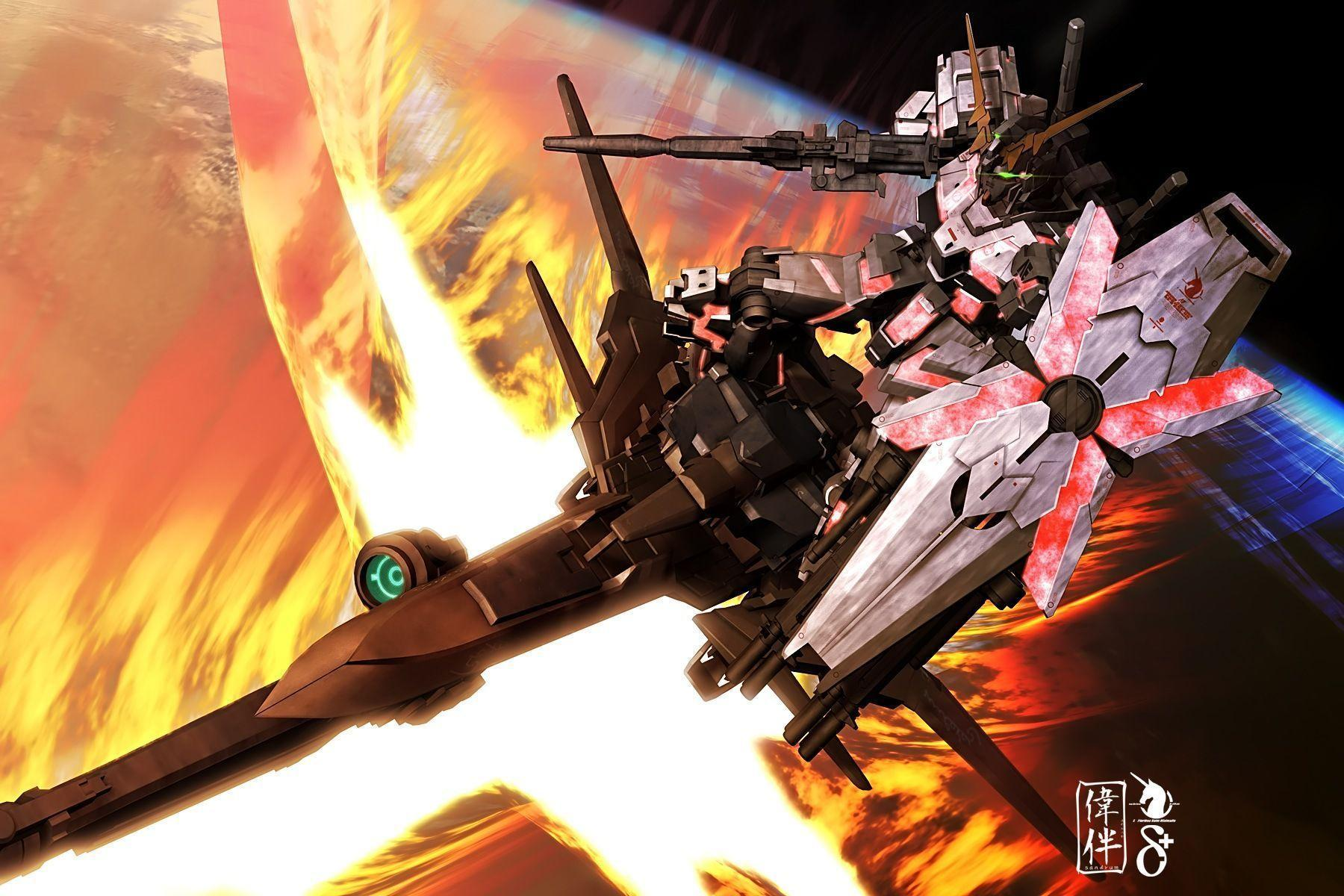 Gundam Unicorn Wallpapers - Wallpaper Cave
