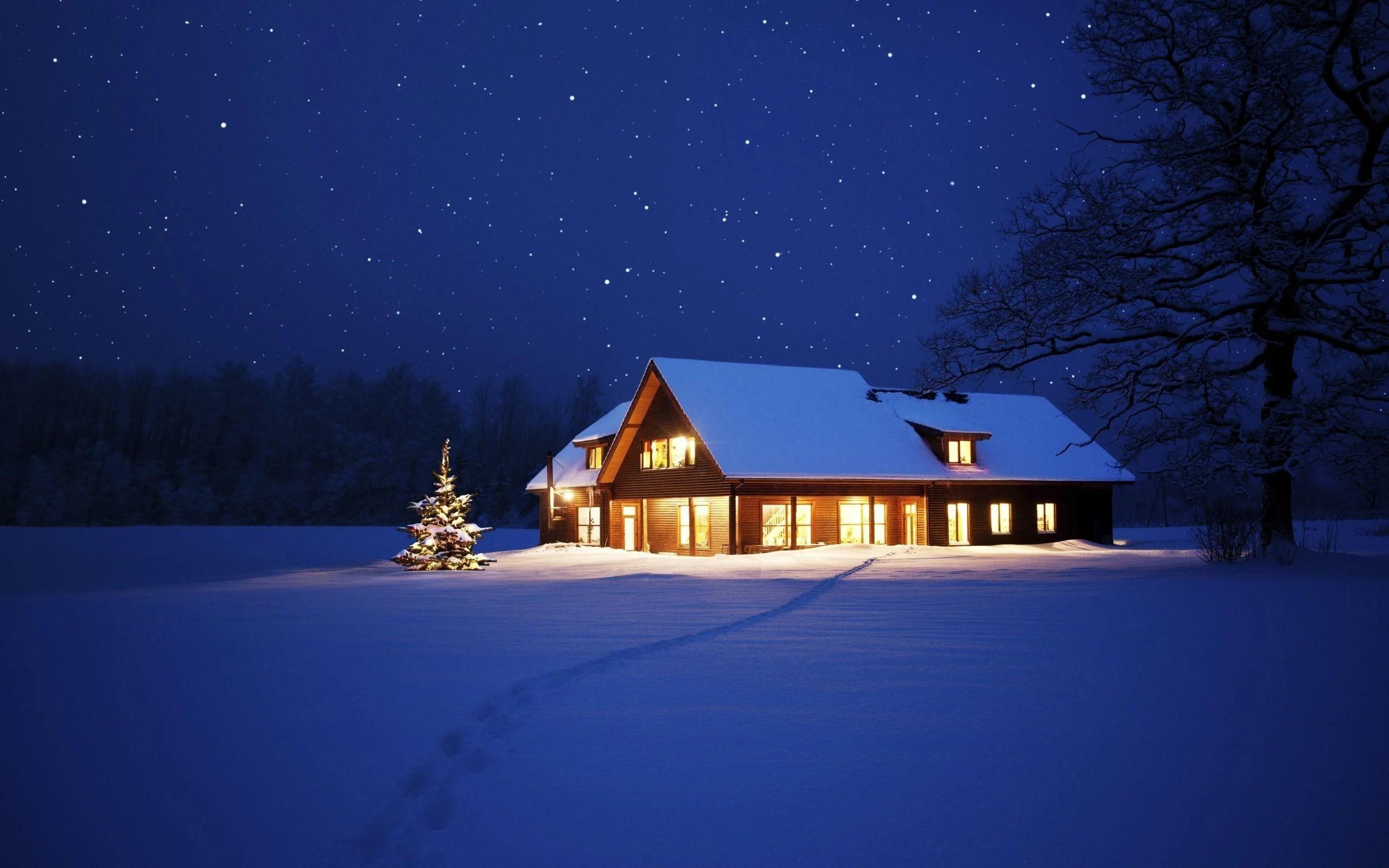 Winter Night Wallpapers