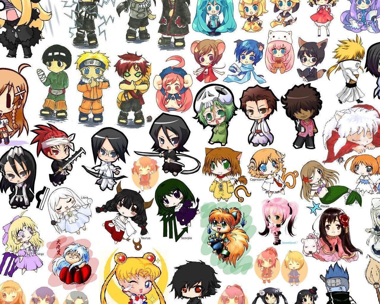 Yandere Characters Chibi Simulator All