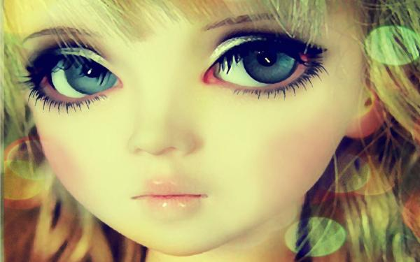 Cute Doll Wallpapers - Wallpaper Cave