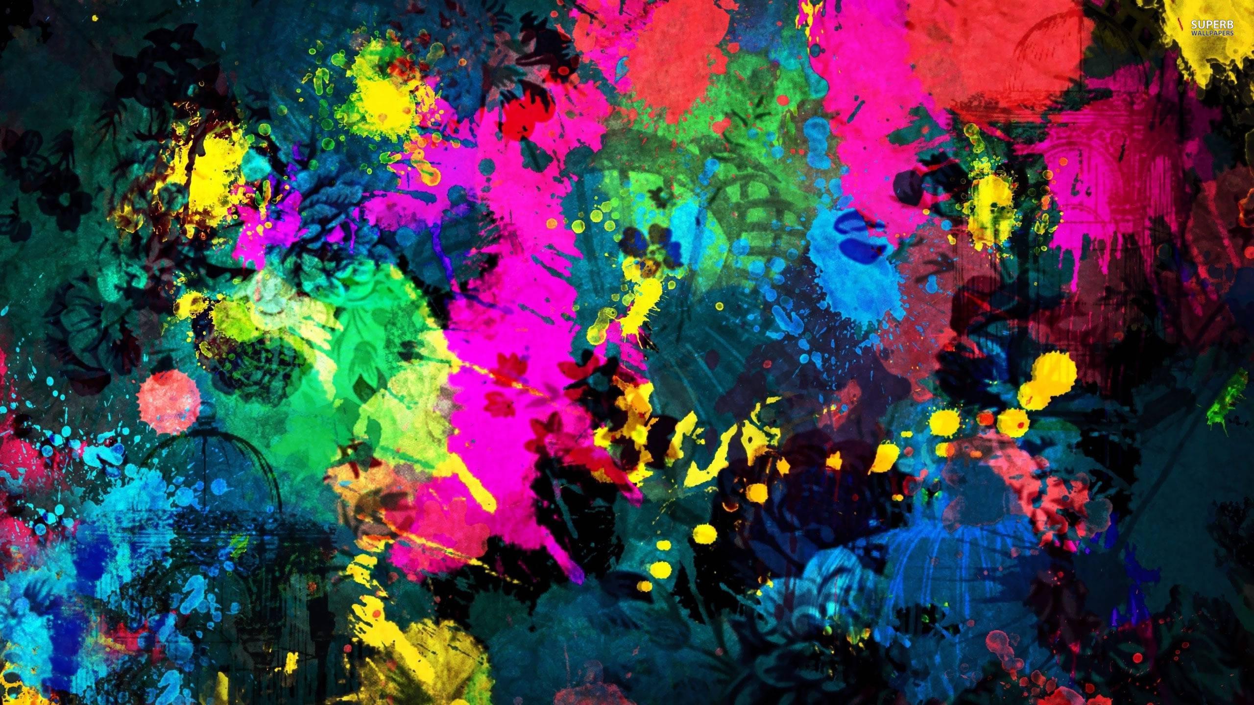 Paint Splat Wallpapers  Wallpaper Cave