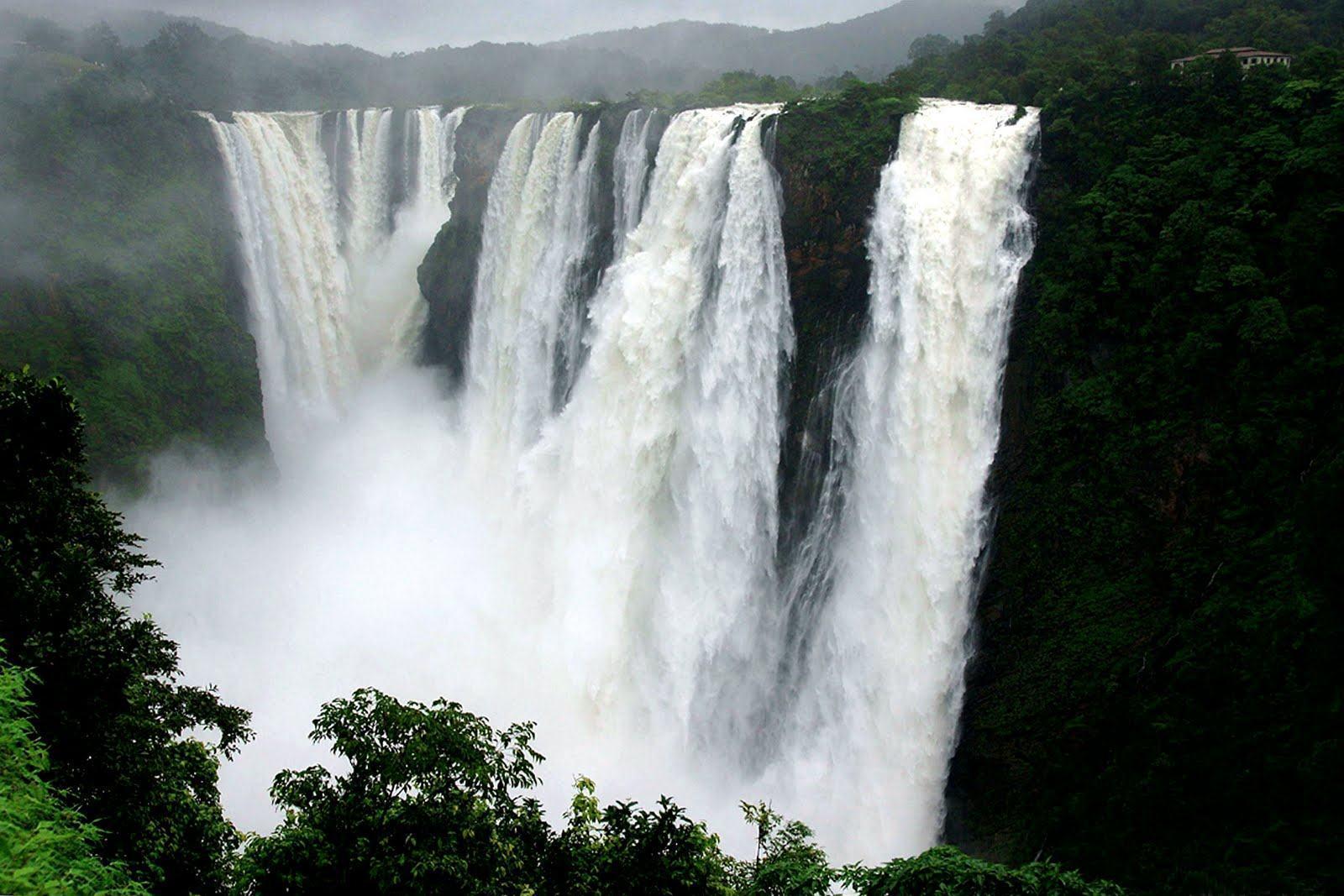 Jog Falls Wallpapers Desktop Karnataka Wallpapers Wallpaper Cave