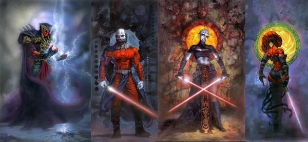 Star Wars All Sith Lords