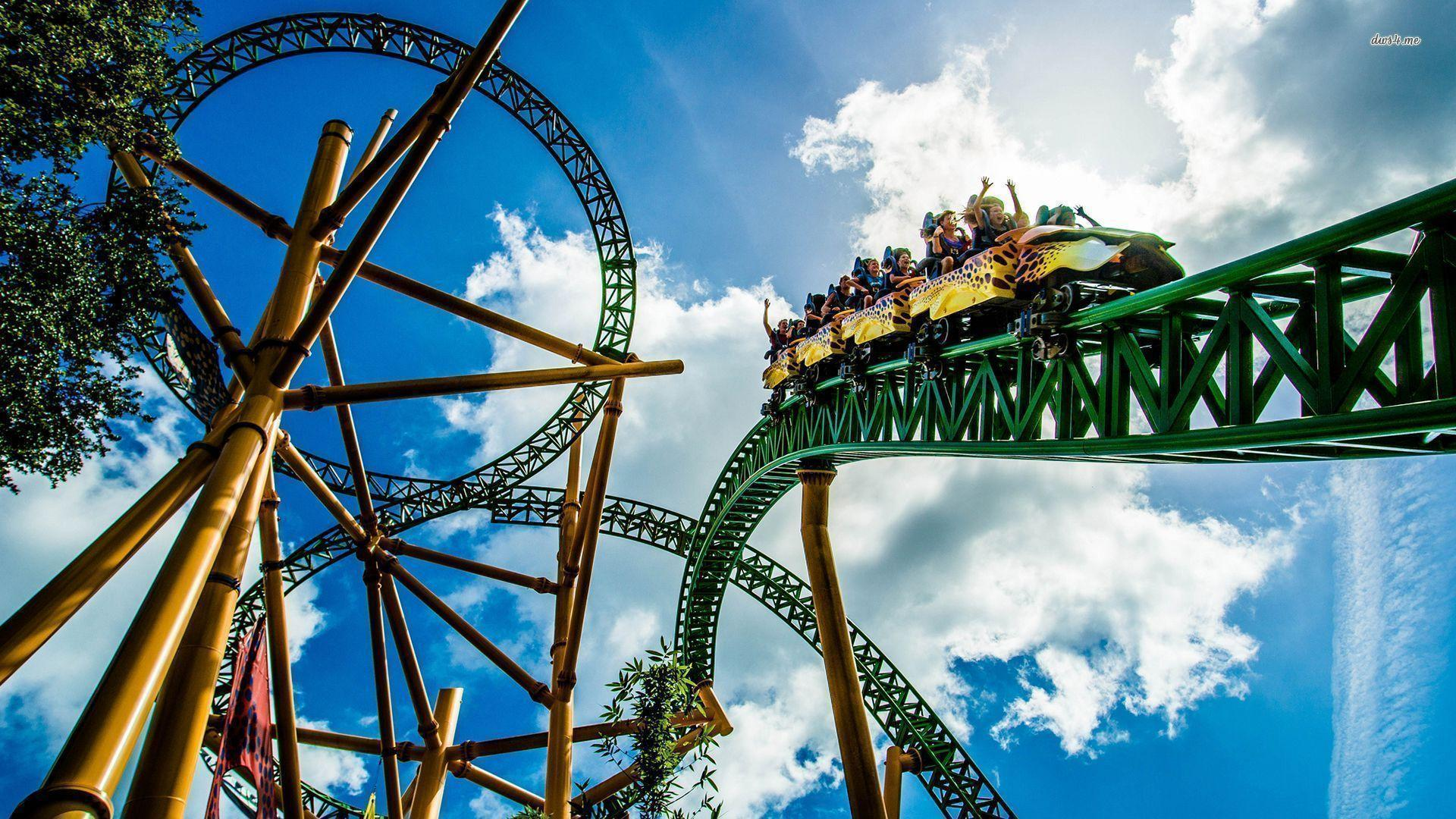 Roller Coaster Wallpapers Wallpaper Cave