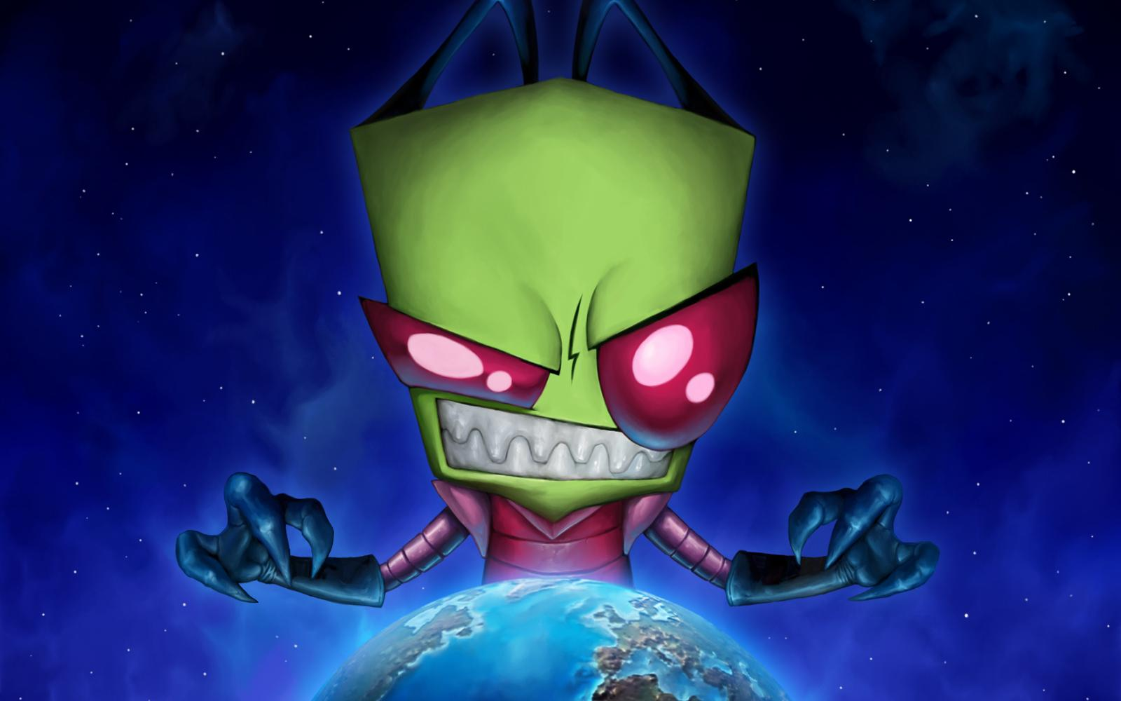 Invader Zim Iphone Wallpaper Invader Zim Wallpapers Wallpaper Cave
