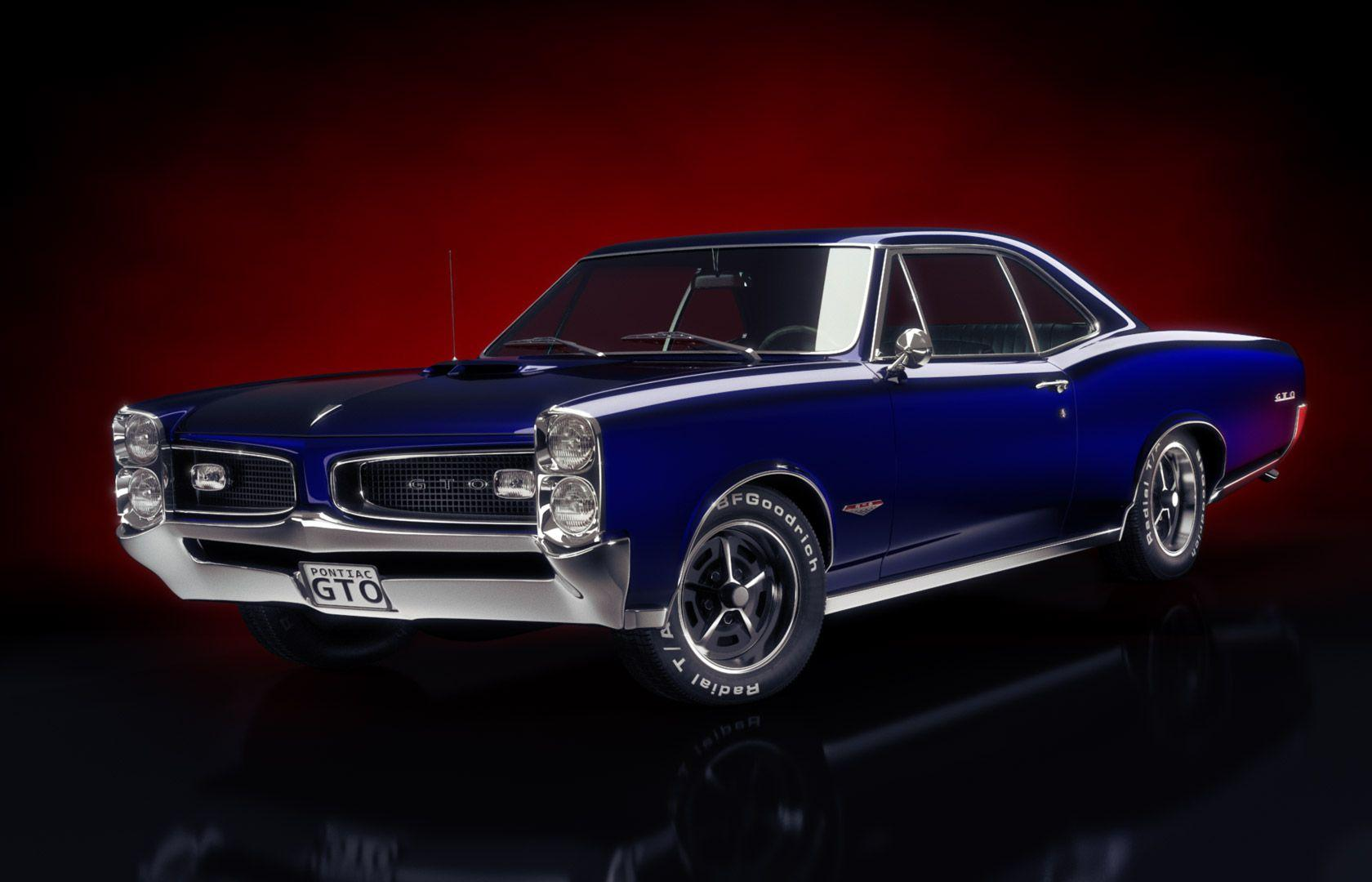 Old Classic El Camino Muscle Cars Wallpaper Pontiac Gto Wallpapers Wallpaper Cave
