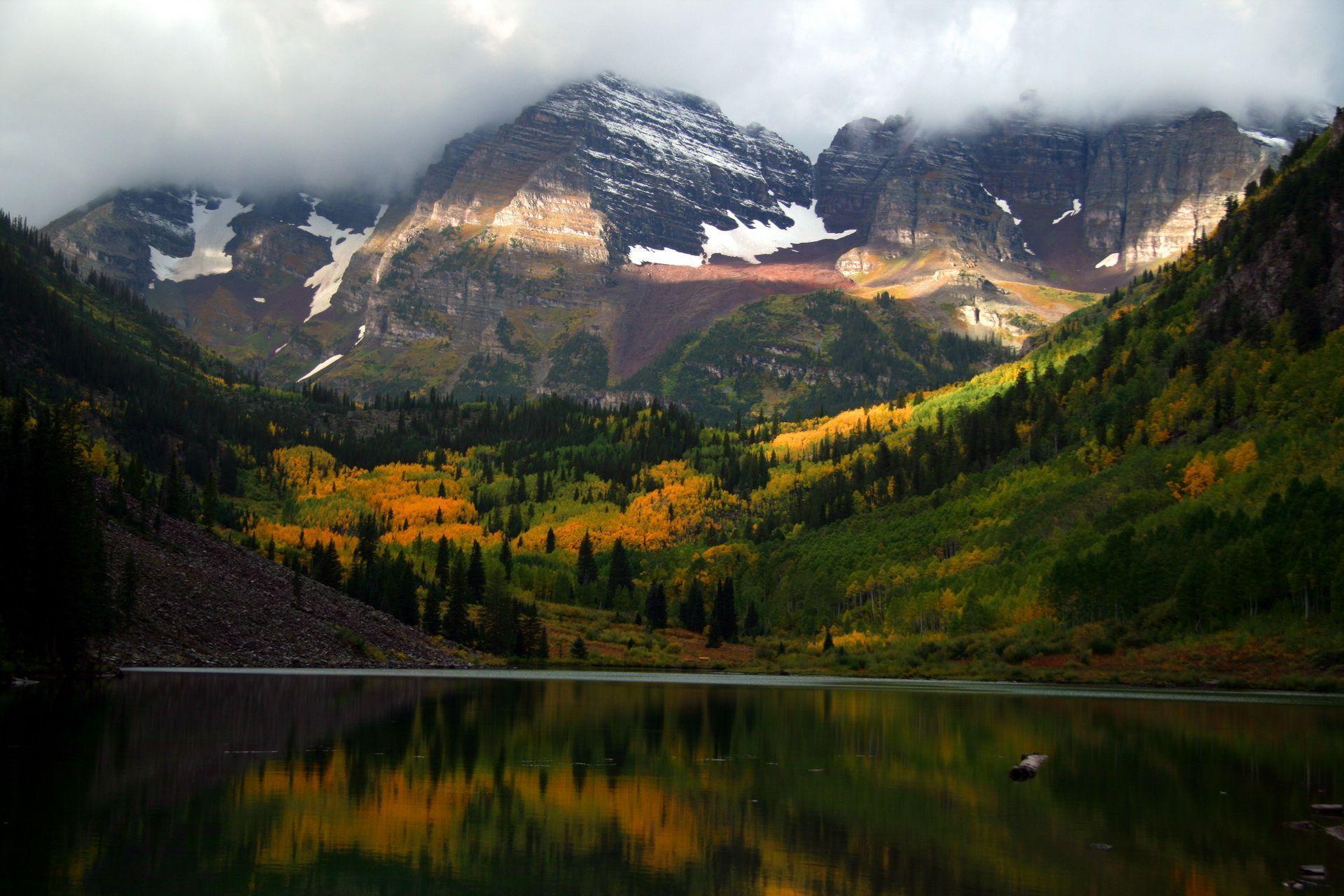 Backgrounds Mountain National Rocky Colorado Desktop Park
