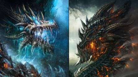 Epic Lightning Dragon Wallpaper