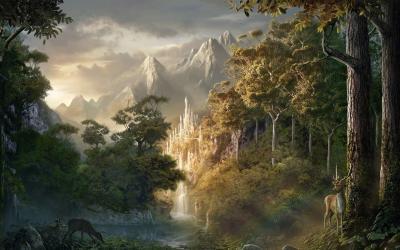 Forest Fantasy Castle