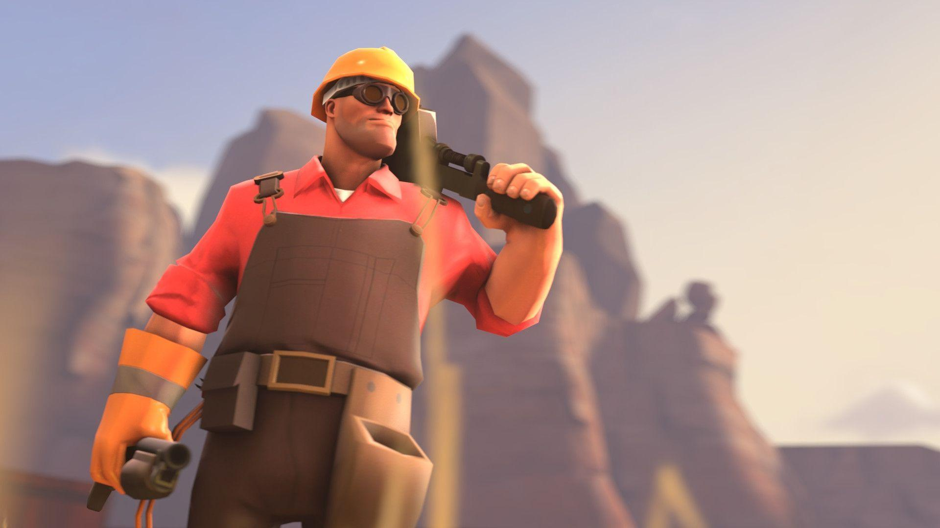 Awesome Wallpapers Girl Sniper Team Fortress 2 Engineer Wallpapers Wallpaper Cave
