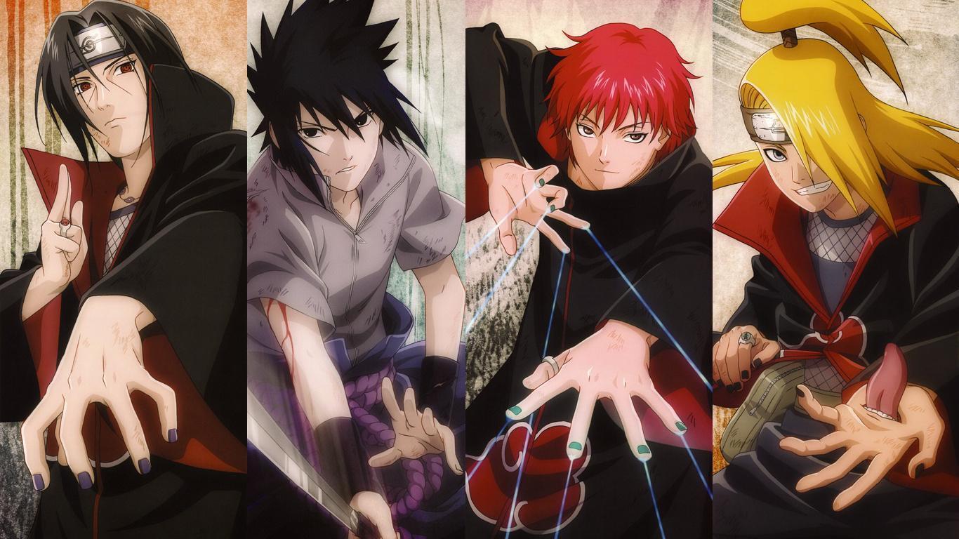 Wallpaper De Naruto Akatsuki Novocom Top