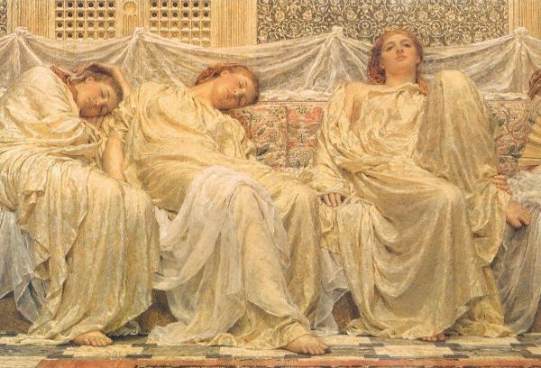 Pre-Raphaelite Brotherhood Paintings By