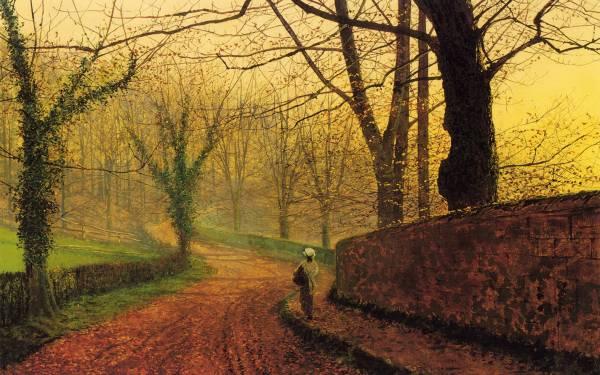 John Atkinson Grimshaw Painting Famous