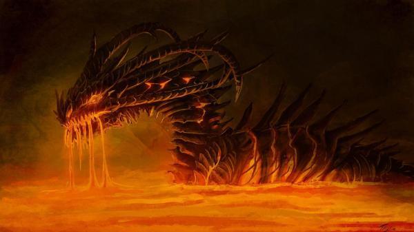 Fire Dragon Wallpaper 1920X1080