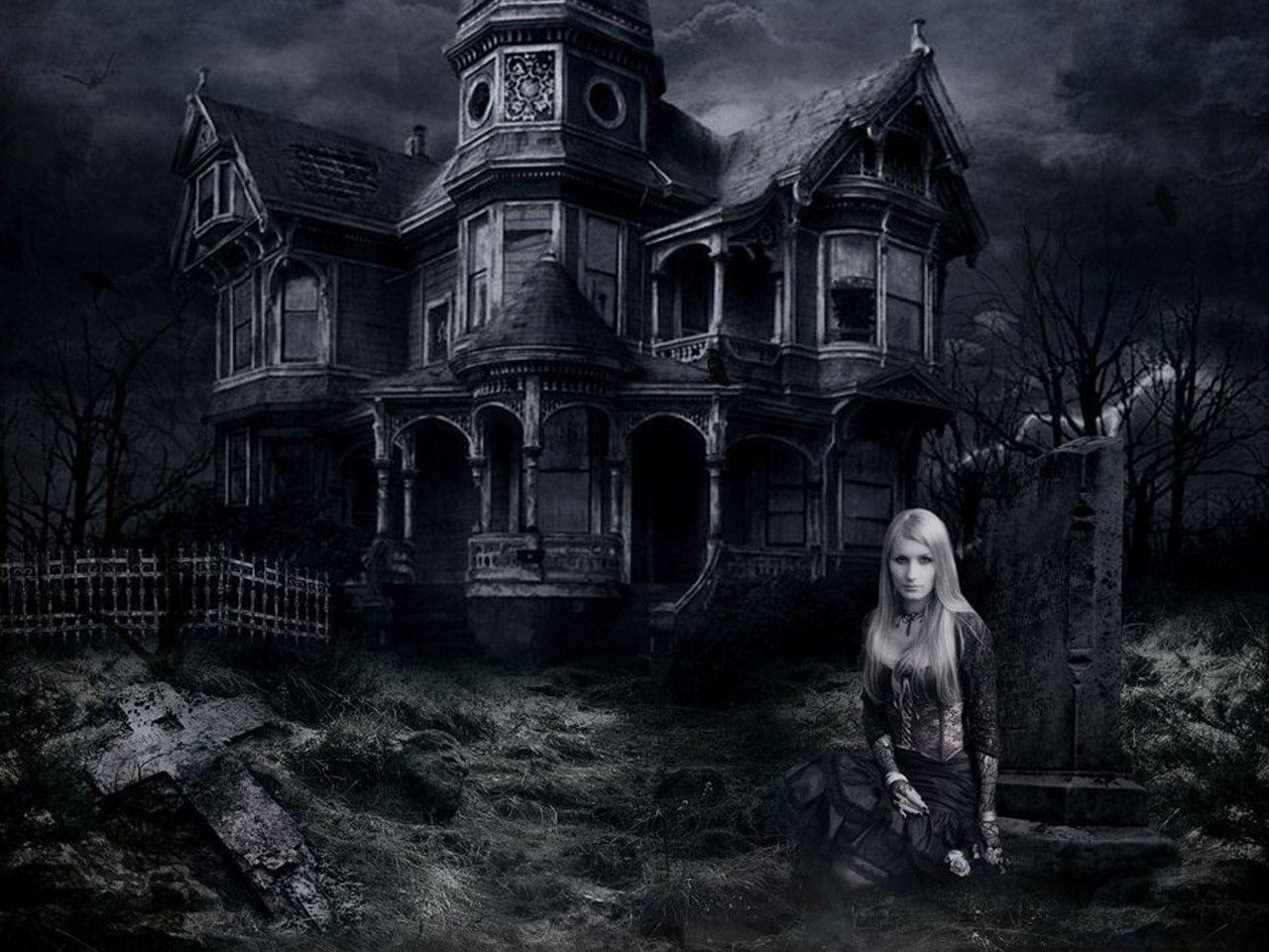 Haunted House Desktop Wallpapers