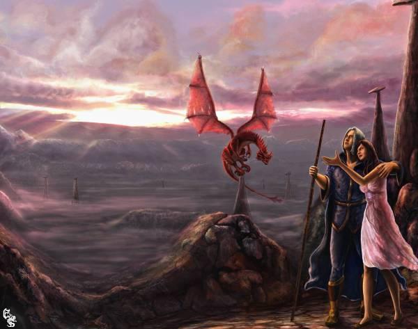 Dragonlance Dragons Art