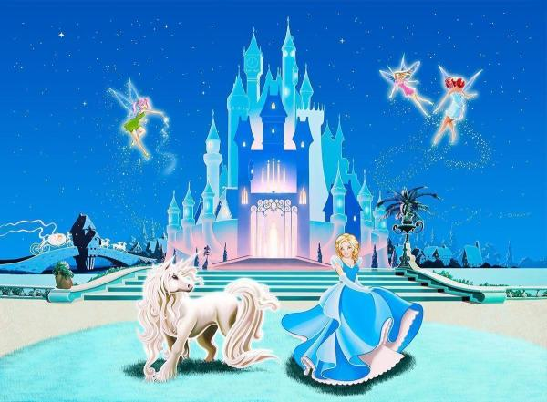 Disney Cinderella Castle Mural