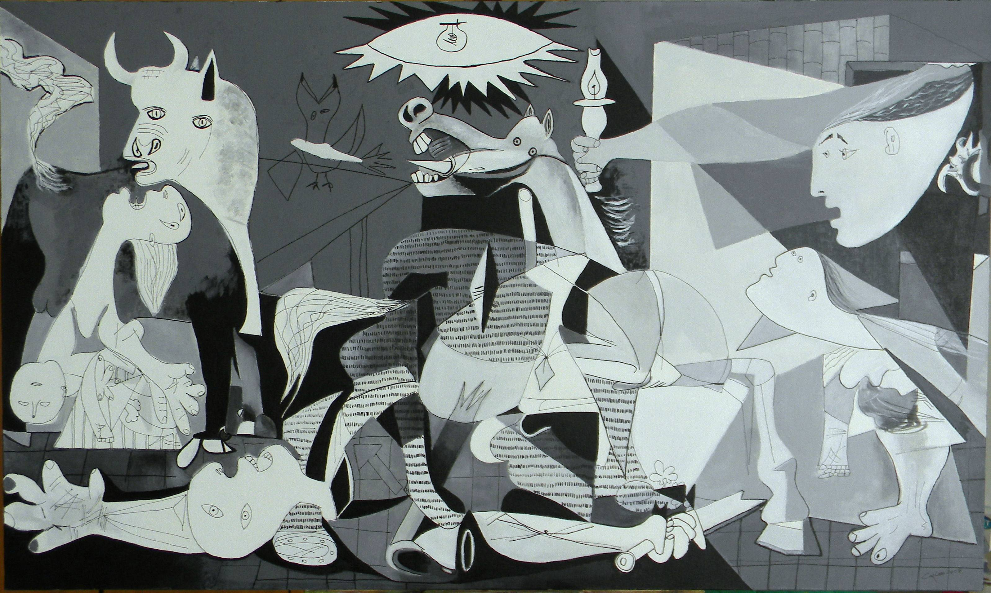 Image result for guernica high resolution color