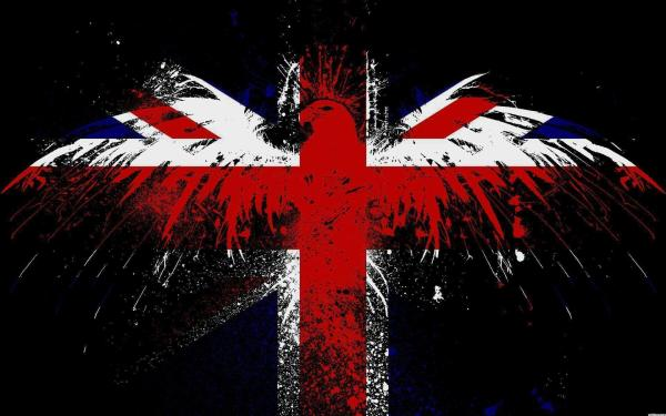 British Flag Eagle