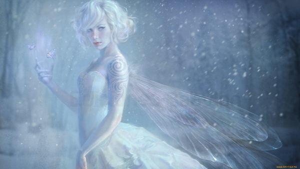 Beautiful Snow Fairies
