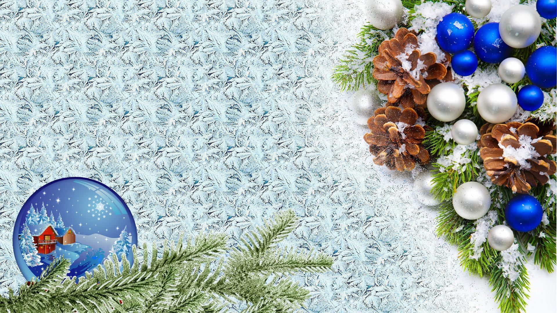Christmas Winter Background Facebook