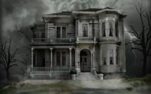 Halloween Haunted House Ghosts