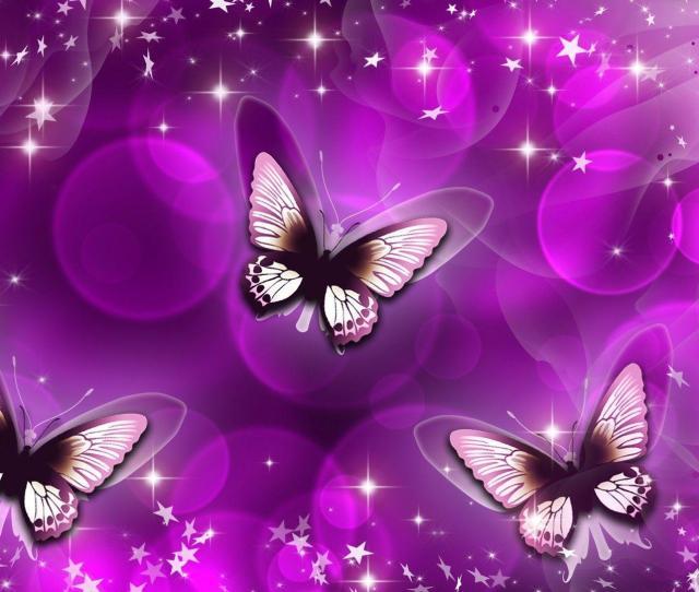 Purple Butterfly Abstract Wallpaper Wallpaper Download