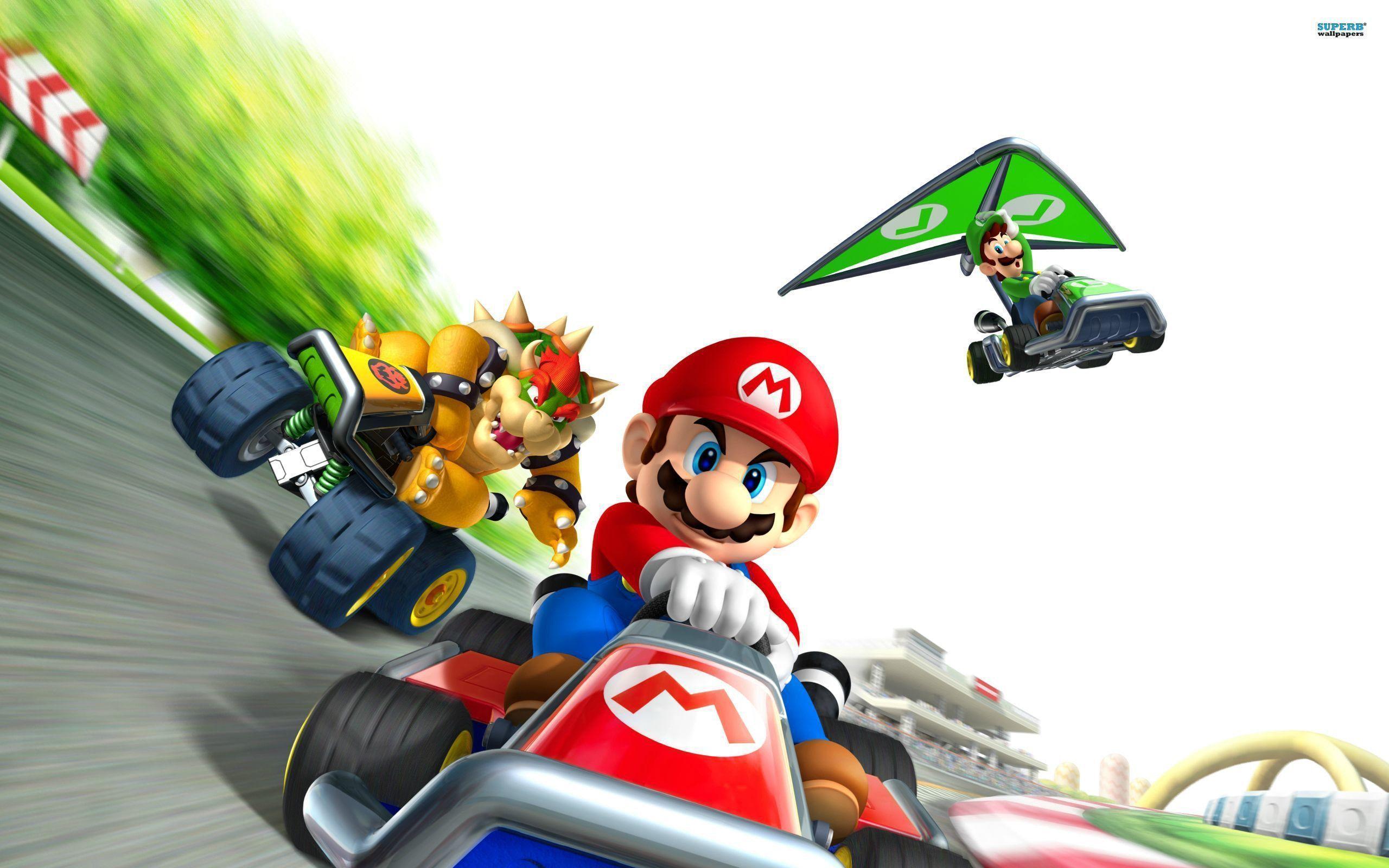 Mario Kart 8 Wallpaper Hd Mario Kart Wallpapers Wallpaper Cave
