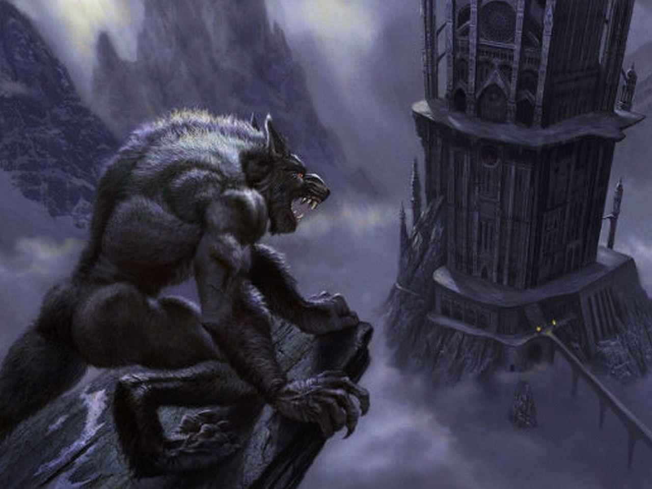 Evil Dark Spirit Girl Wallpaper Hd Werewolf Backgrounds Wallpaper Cave