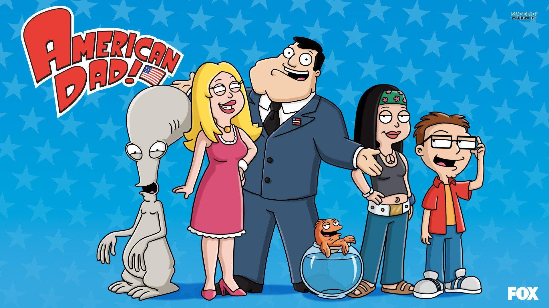 Anime Wallpaper Hd Cute American Dad Wallpapers Wallpaper Cave
