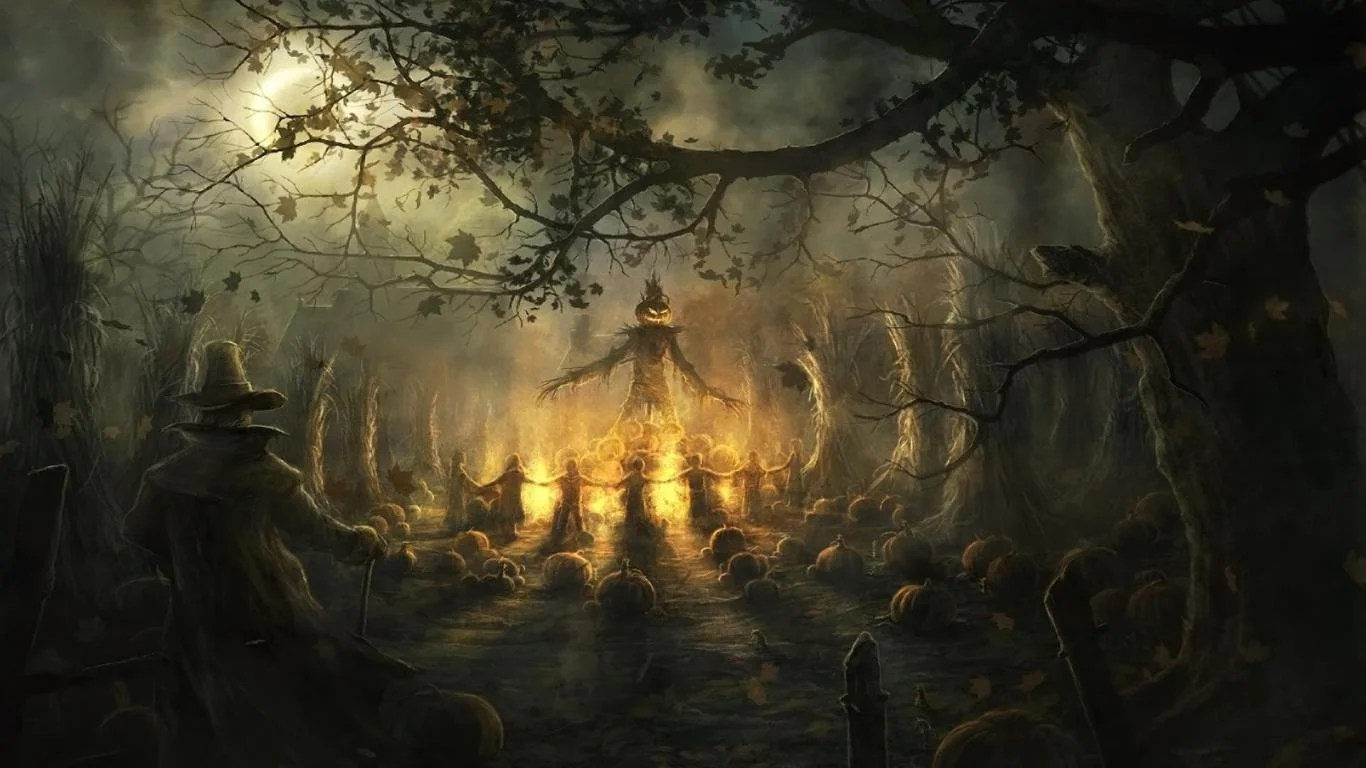 scary halloween wallpapers wallpaper